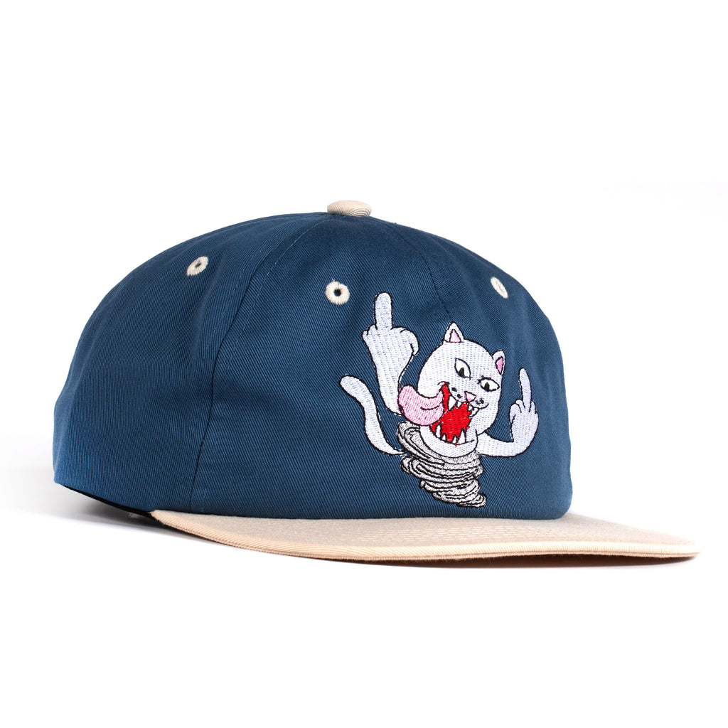 Nermanian Devil Strapback (Blue / Tan)