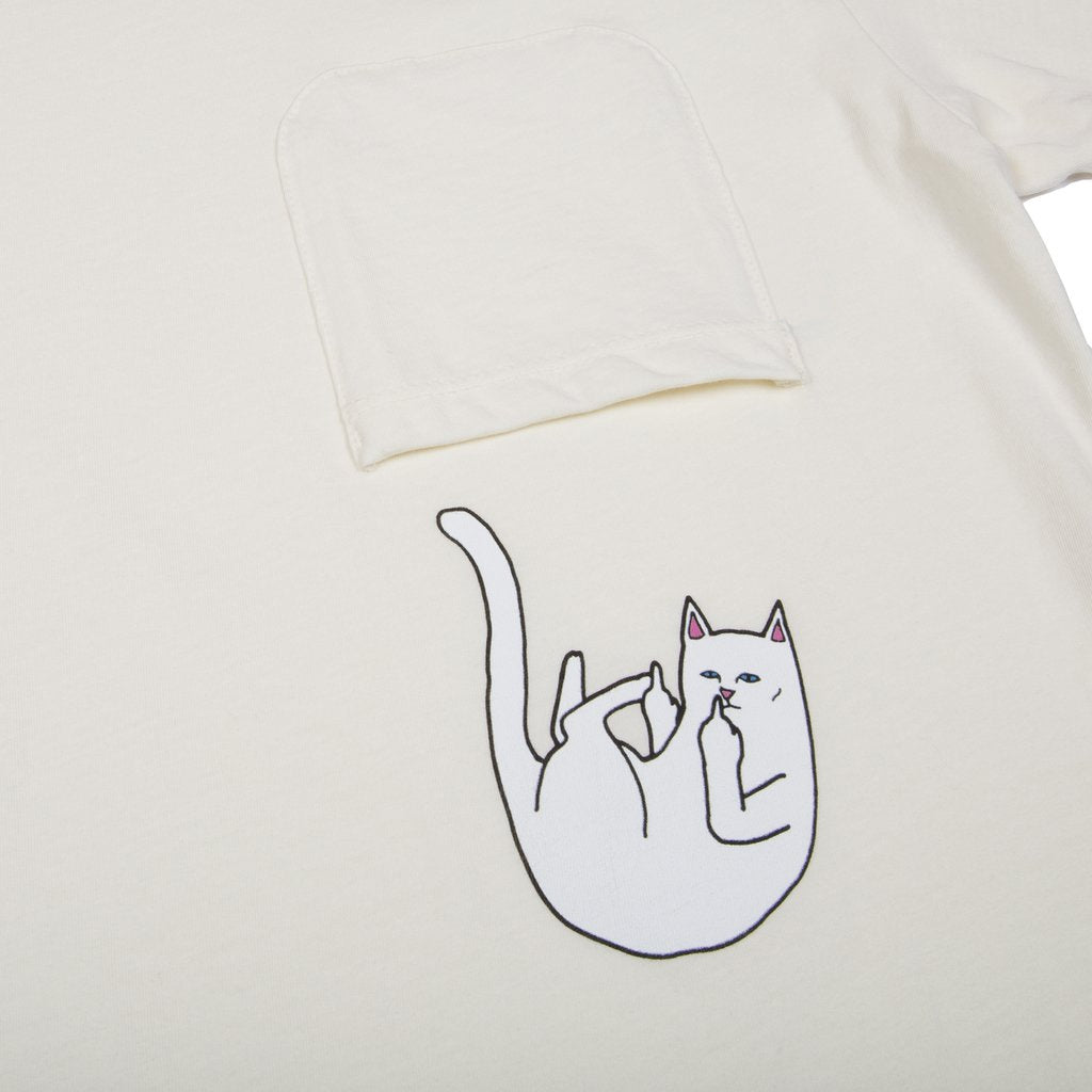 Falling For Nermal Pocket Tee (Natural)