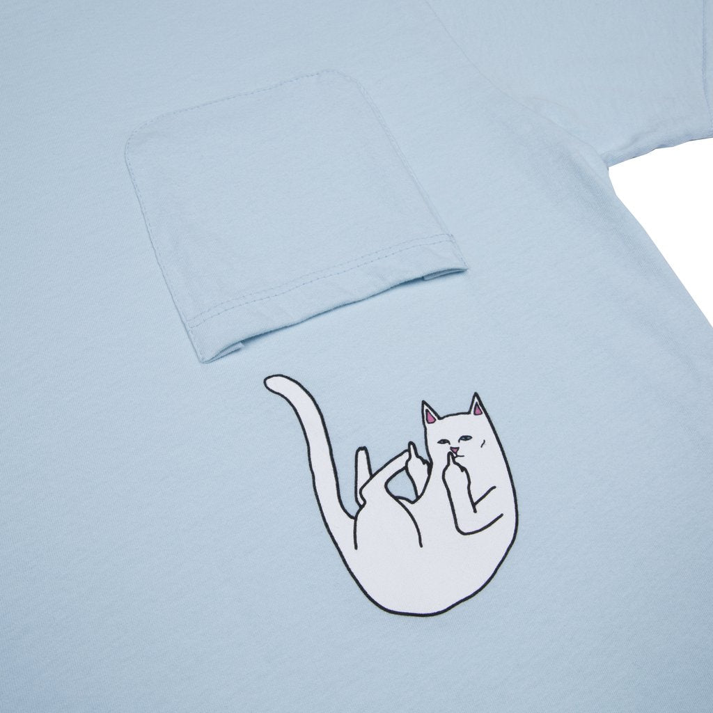 Falling For Nermal Pocket Tee (Baby Blue)