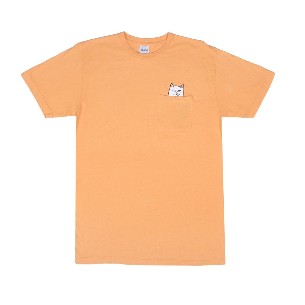 Lord Nermal Pocket Tee (Over Dyed Orange)
