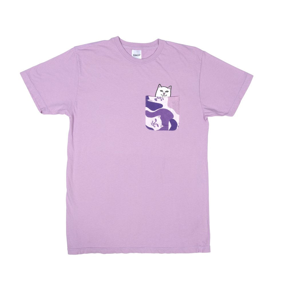 Lord Nermal Camo Pocket Tee (Purple camo)