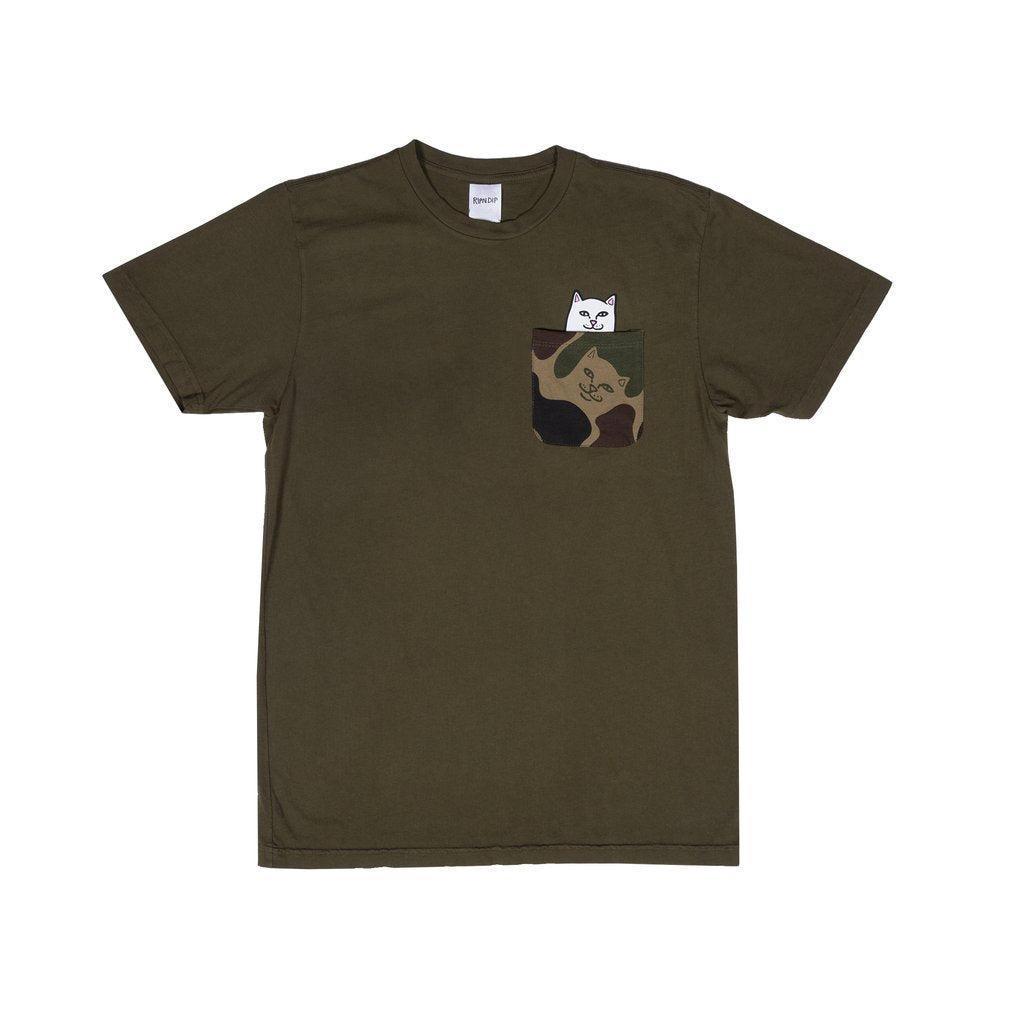 Lord Nermal Camo Pocket Tee (Army camo)