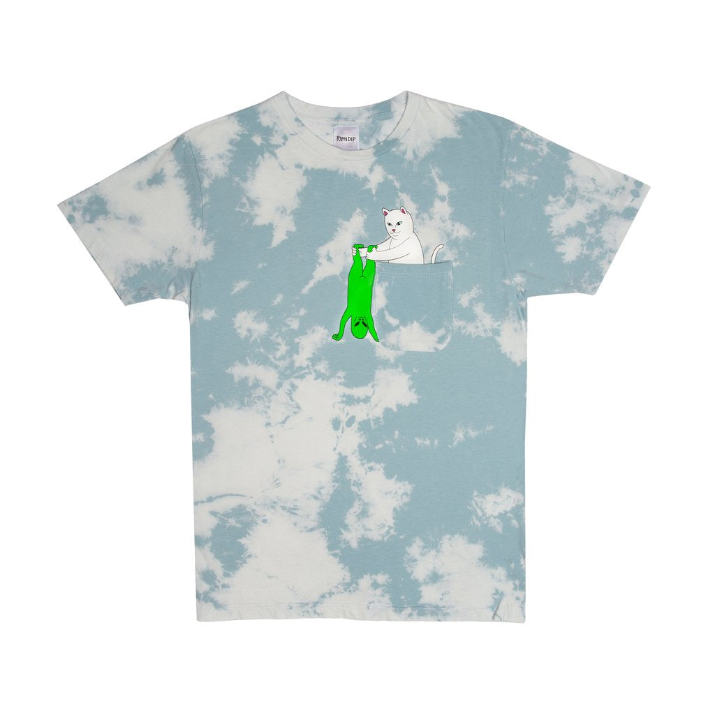Break Yo Self Pocket Tee (Cloud Wash)