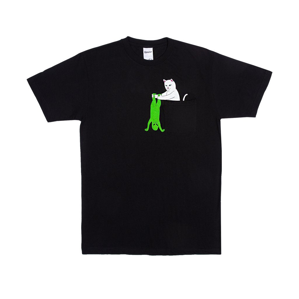 Break Yo Self Pocket Tee (Black)