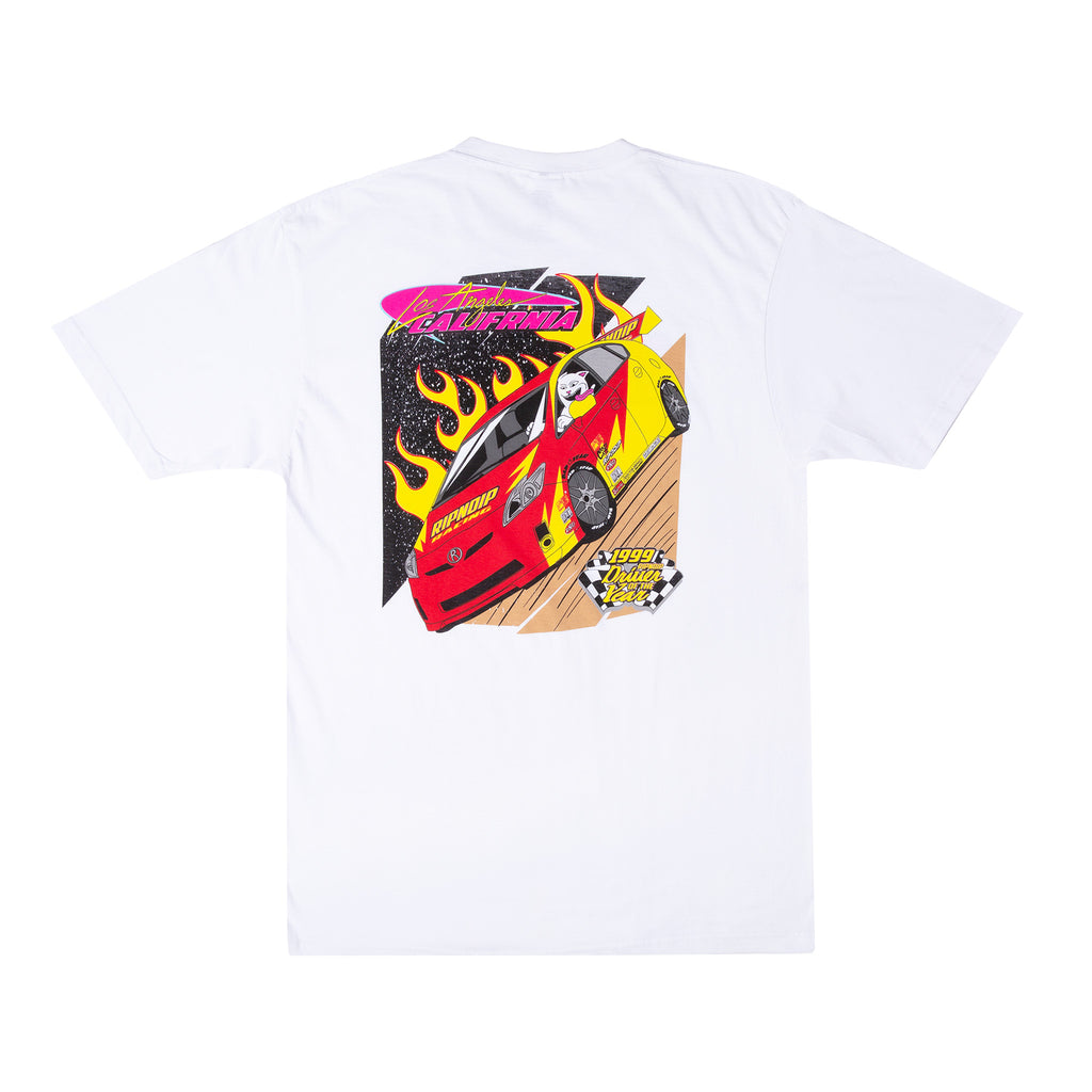 RIPNDIP Racing Tee (White)