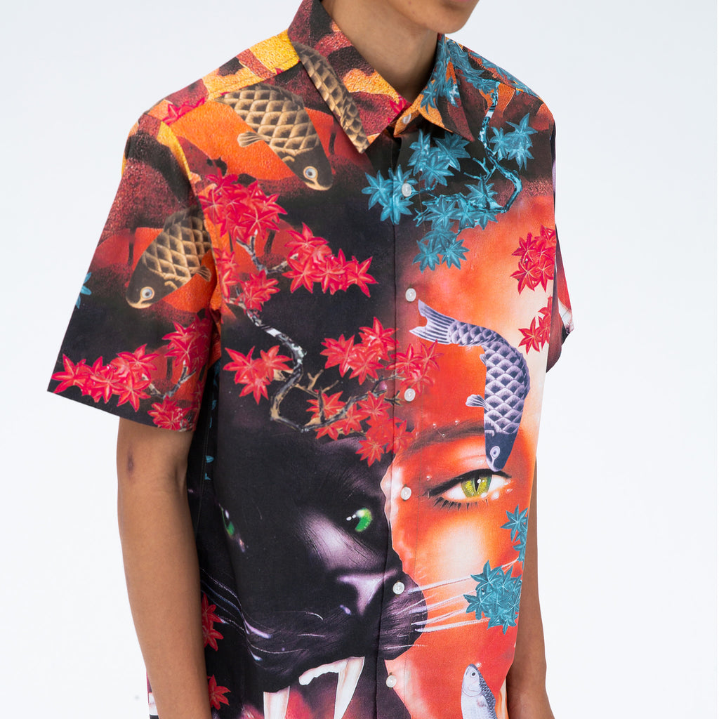 Koi Button Up (Multi)