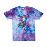 Speed Racing Tee (Blue / Purple Lightning Wash)