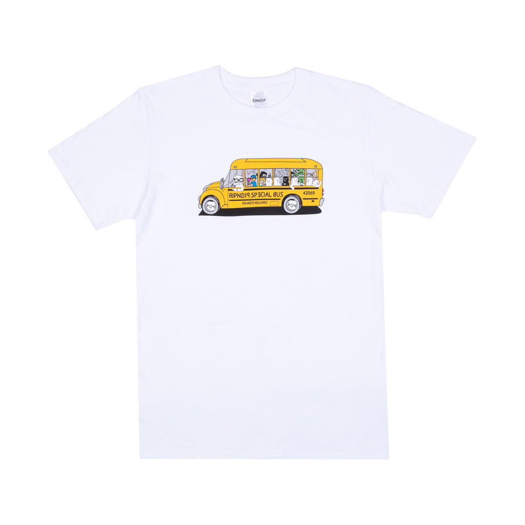 School Bus Tee (White)