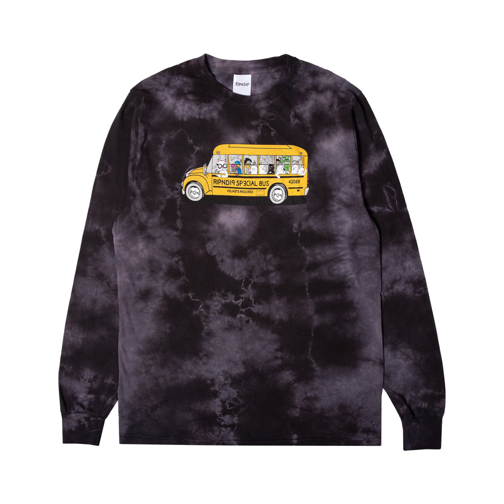 School Bus L/S (Black Lightning Wash)