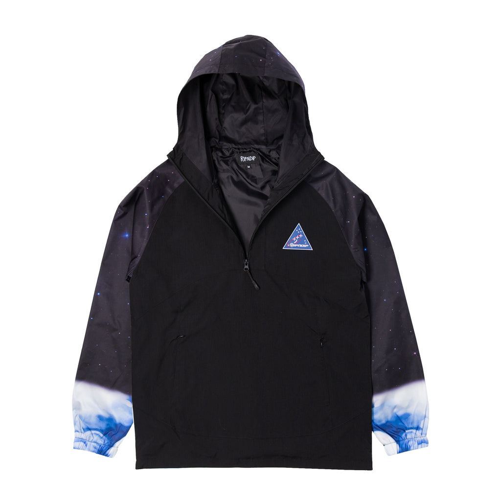 Galaxy Gypsy Anorak Jacket (Black)