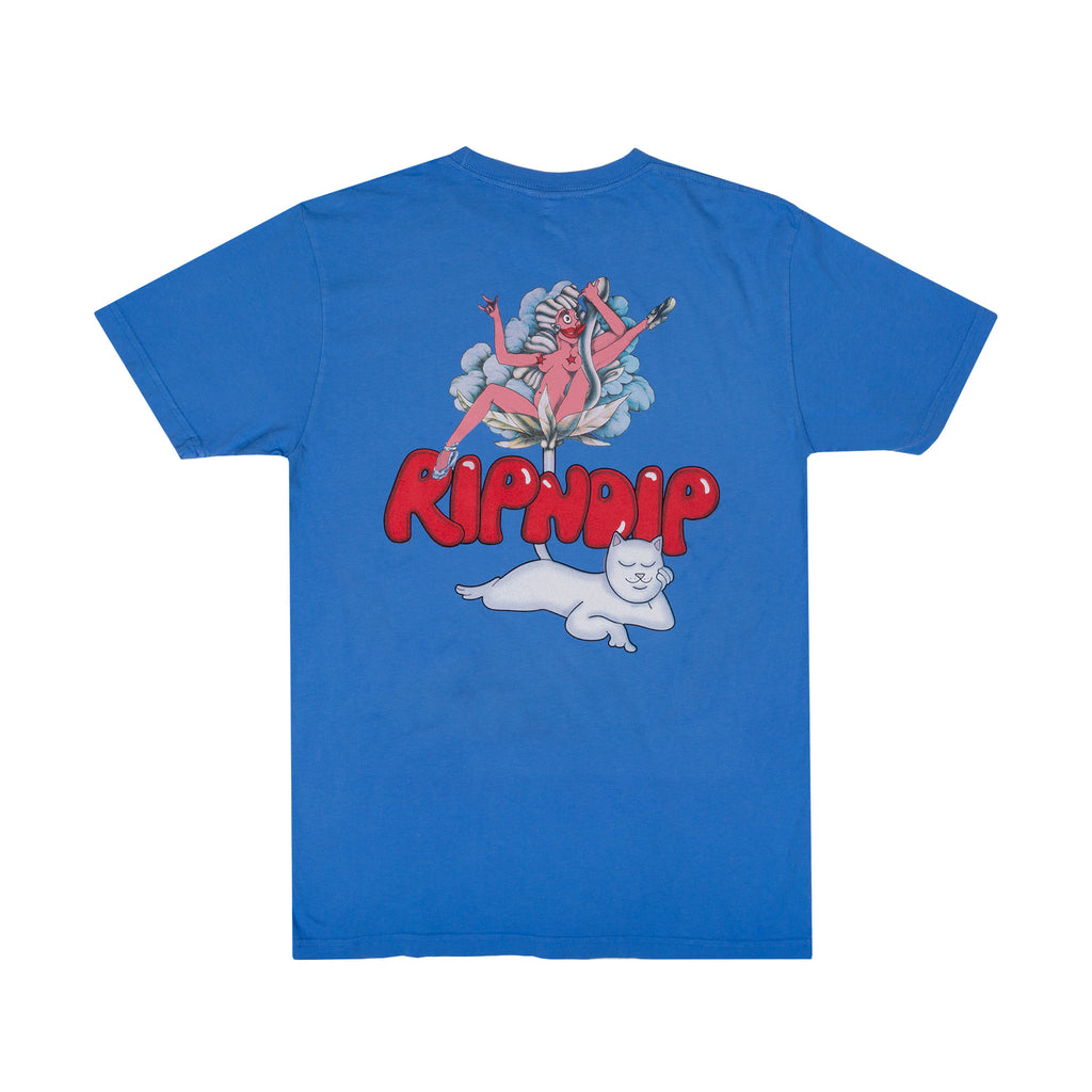 Cherry Blossom Tee (Light Blue)