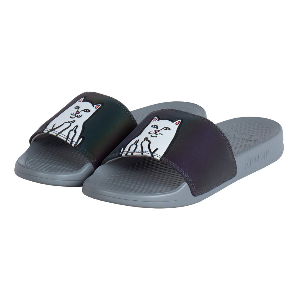 Lord Nermal Slides (Black Iridescent)