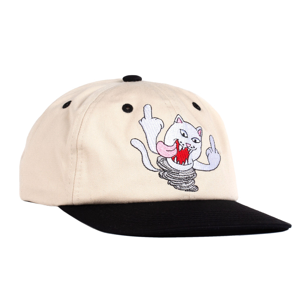 Nermanian Devil Strapback (Tan / Black)