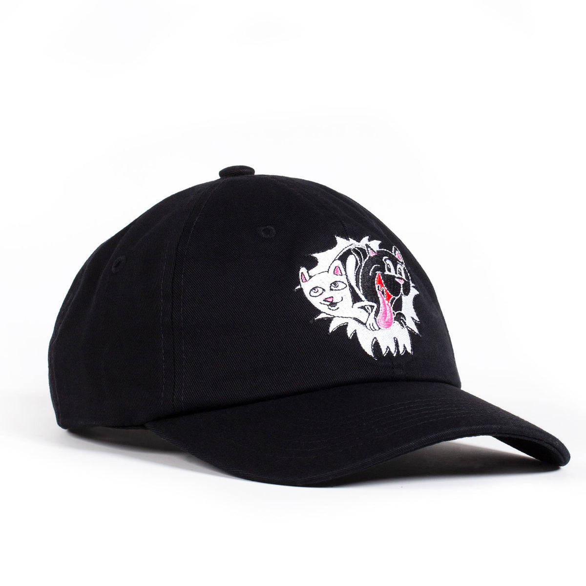 Nerm & Jerm Show Dad Hat (Black) by Ripndip