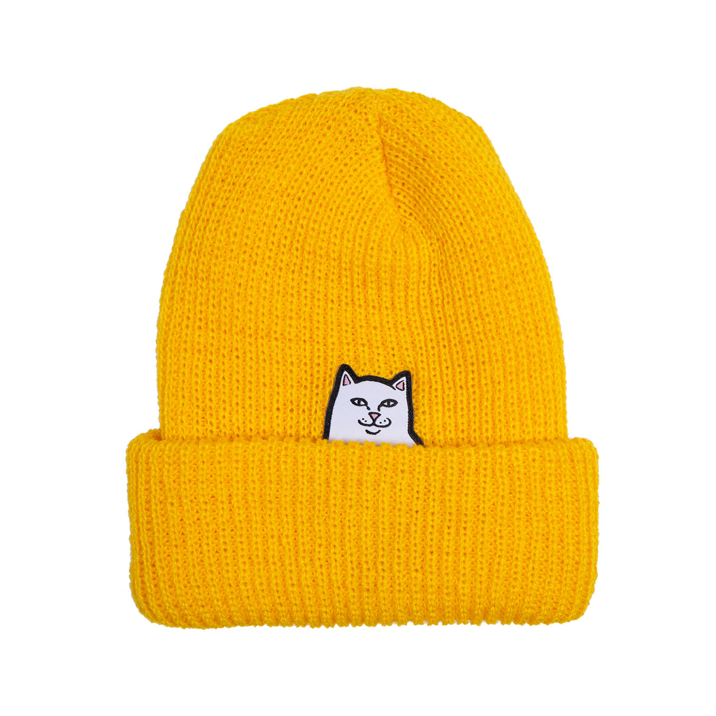 Lord Nermal Ribbed Beanie (Gold)