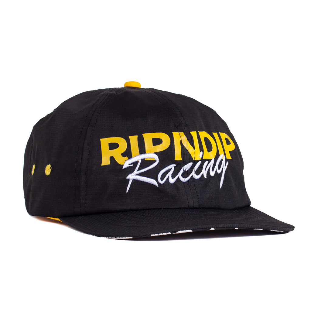 Speed Racing Strapback (Black)