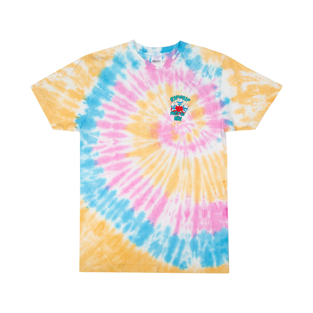 Alien Nerm Tee (Gold Rainbow Wash)