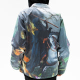 Fire & Desire Denim Coach Jacket (Multi)
