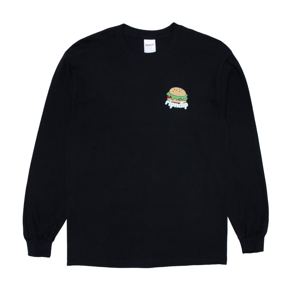 Fat Hungry Baby Long Sleeve (Black)