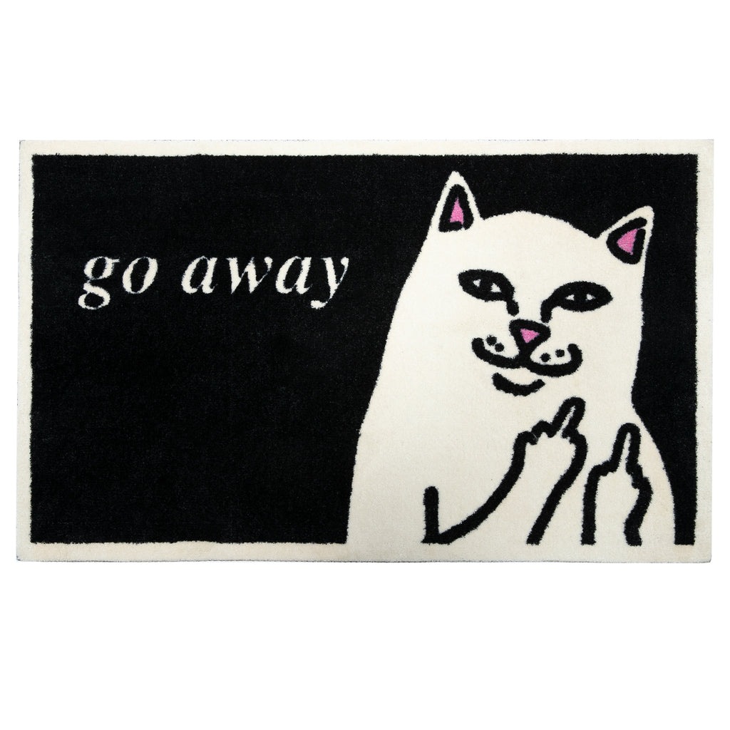 Go Away Rug (Black)
