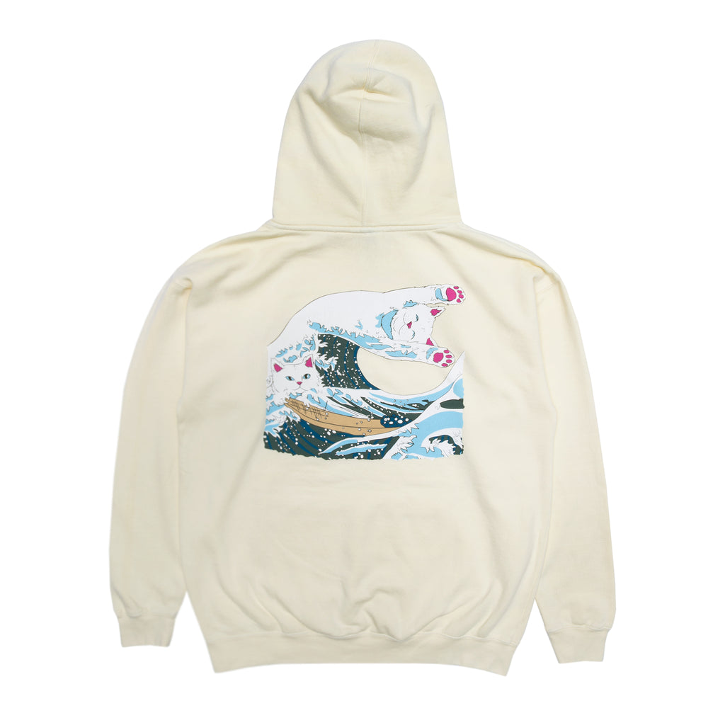 The Great Wave Of Nerm Hoodie (Cream)