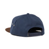 Spaceship Hat (Navy/Brown)