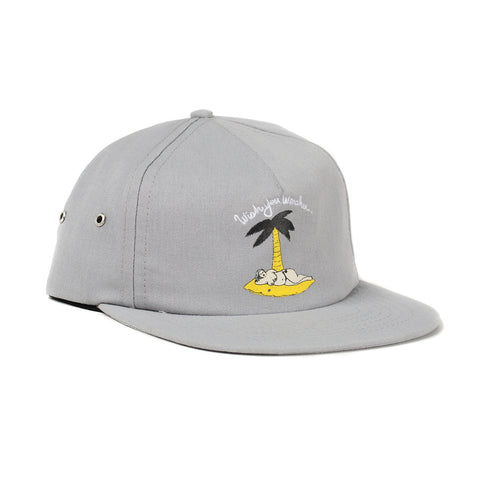 Wish You Were Here Hat (Grey)