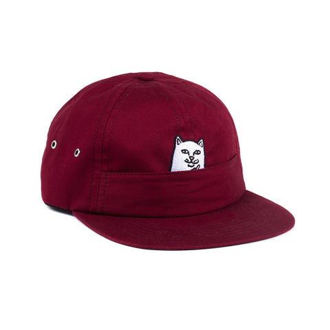 Nermal Pocket Six Panel (Maroon)
