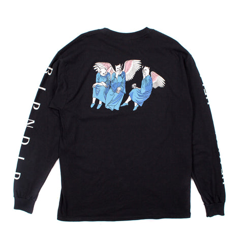 Heaven And Hell L/S (Black)