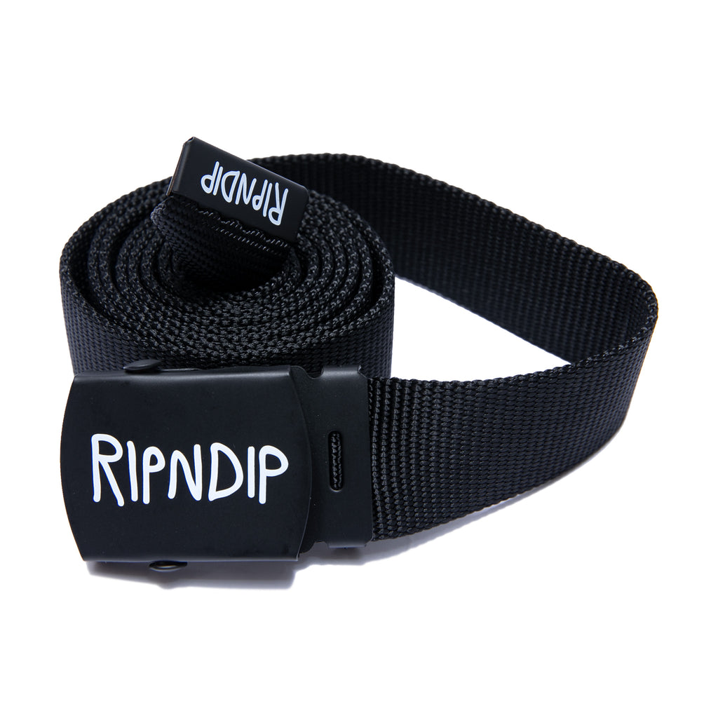 Logo Web Belt (Black)
