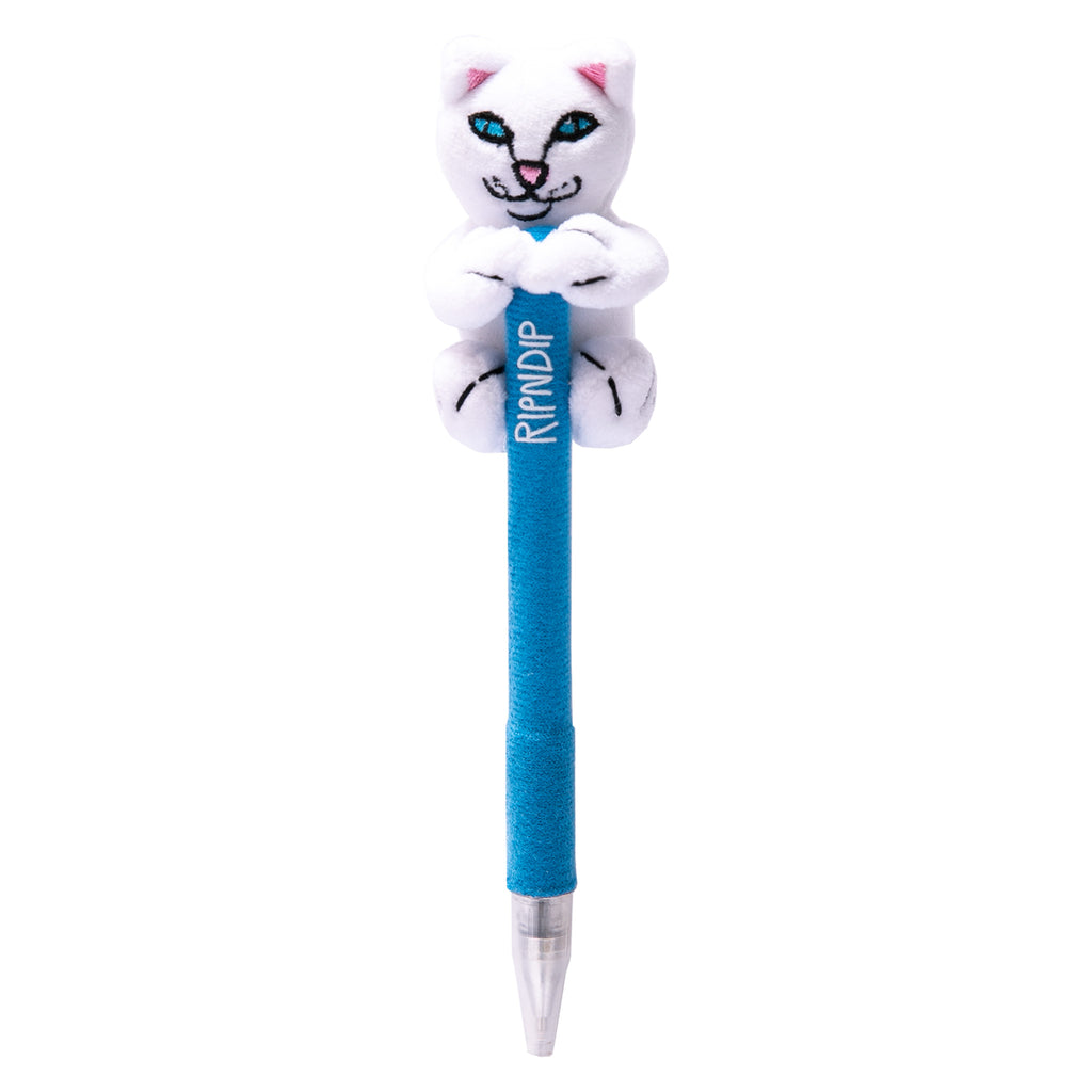 Lord Nermal Plush Pen (White)