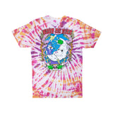 Wizard Tee (Gold/Purple Tie Dye)