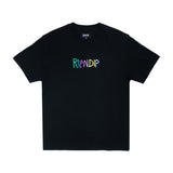 Embroidered Logo Tee (Black)