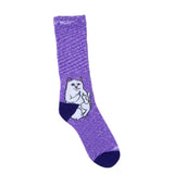 Lord Nermal Socks (Purple Speckle)