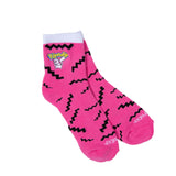 Catch Em All Mid Socks (Pink)