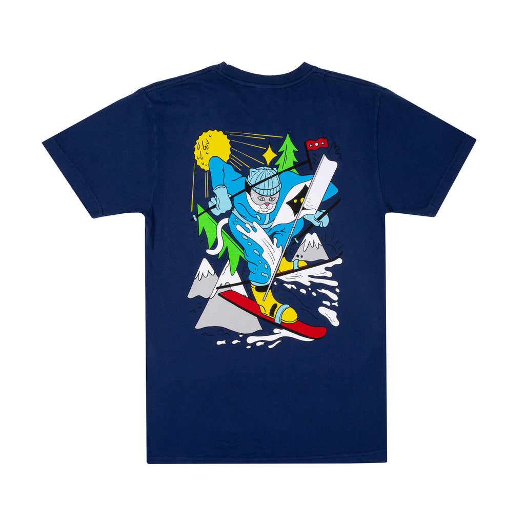 Slopes Tee (Navy)