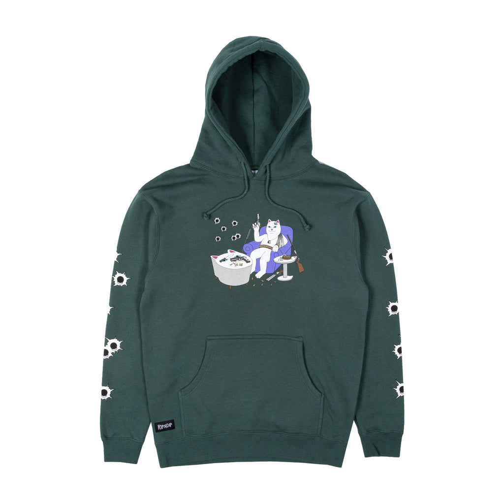 Bullet Proof Hoodie (Hunter Green)