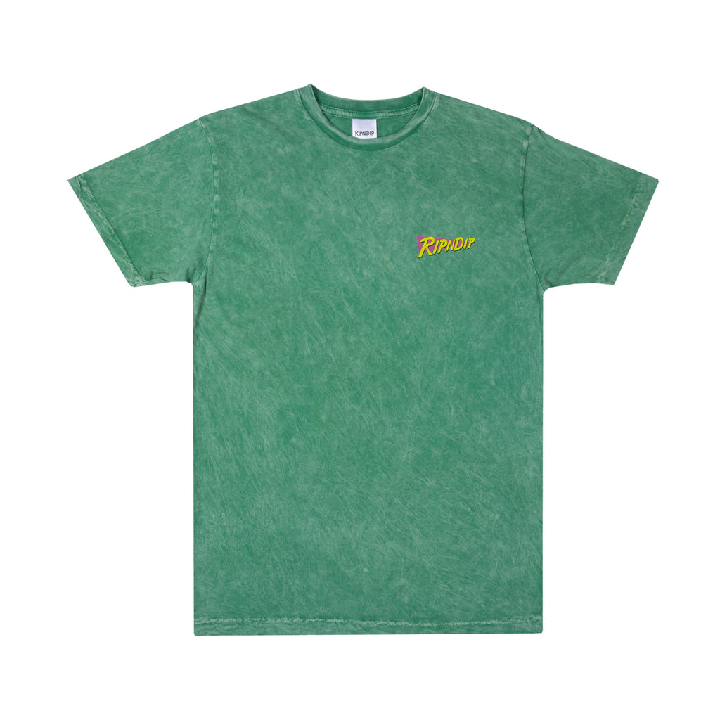 Purple Haze Tee (Green Vintage Wash)