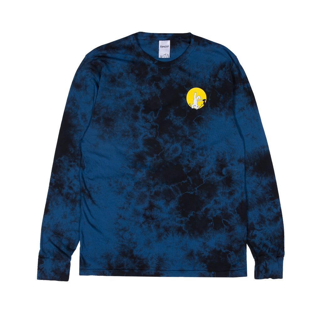 It Won't Be Ok L/S (Navy Acid Wash)