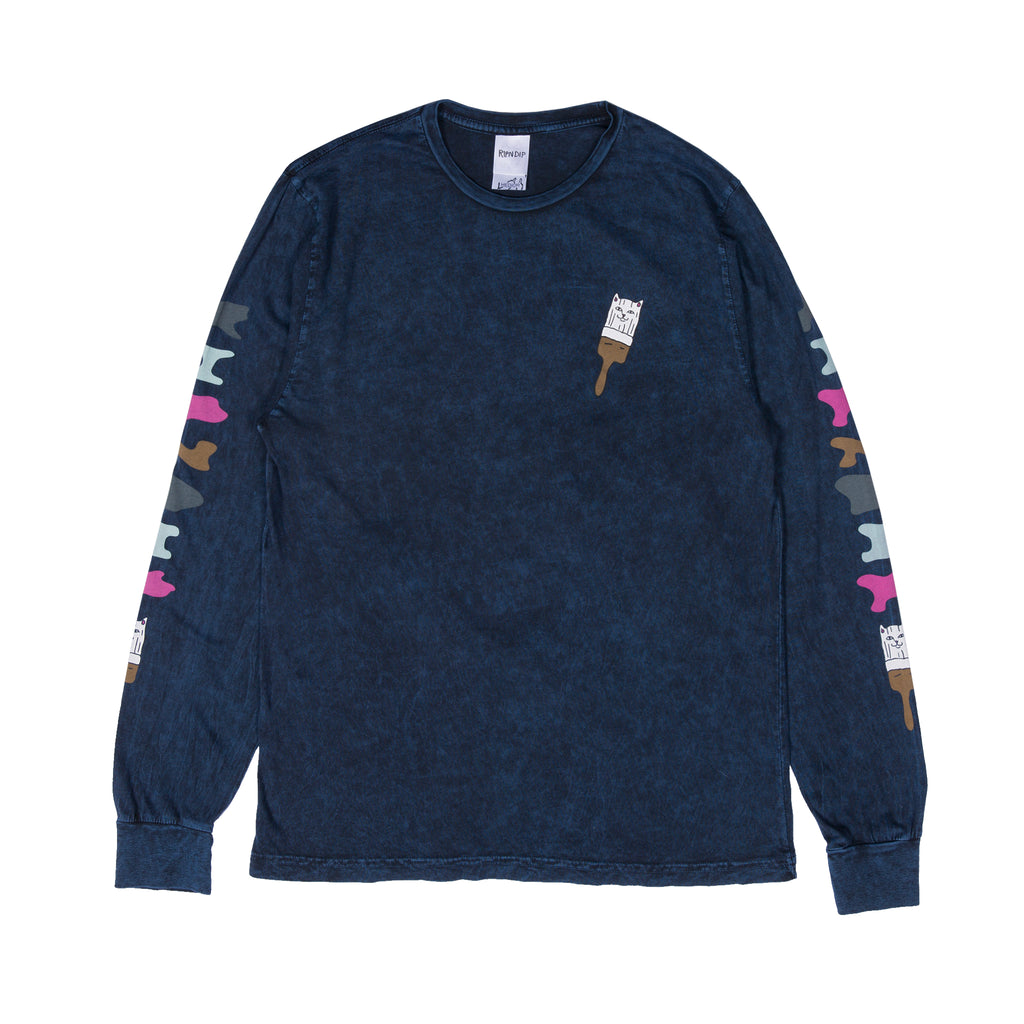 Beautiful Mountain L/S (Navy Mineral Wash)