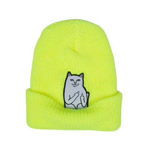 Lord Nermal Rib Beanie (Safety Yellow)