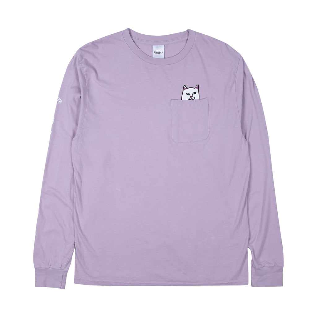 Lord Nermal Pocket L/S (Light Purple)