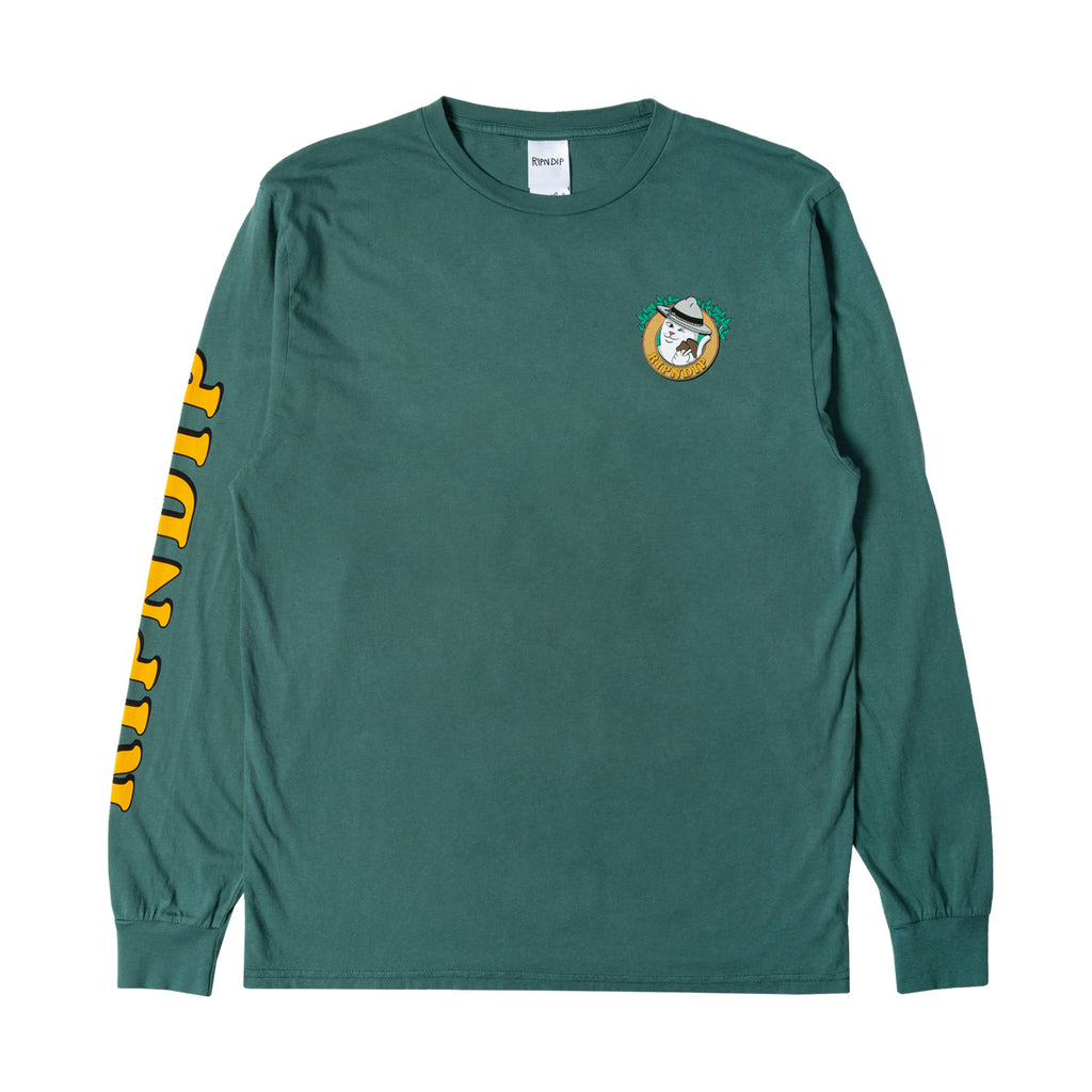 Hiker Nerm L/S (Hunter Green)