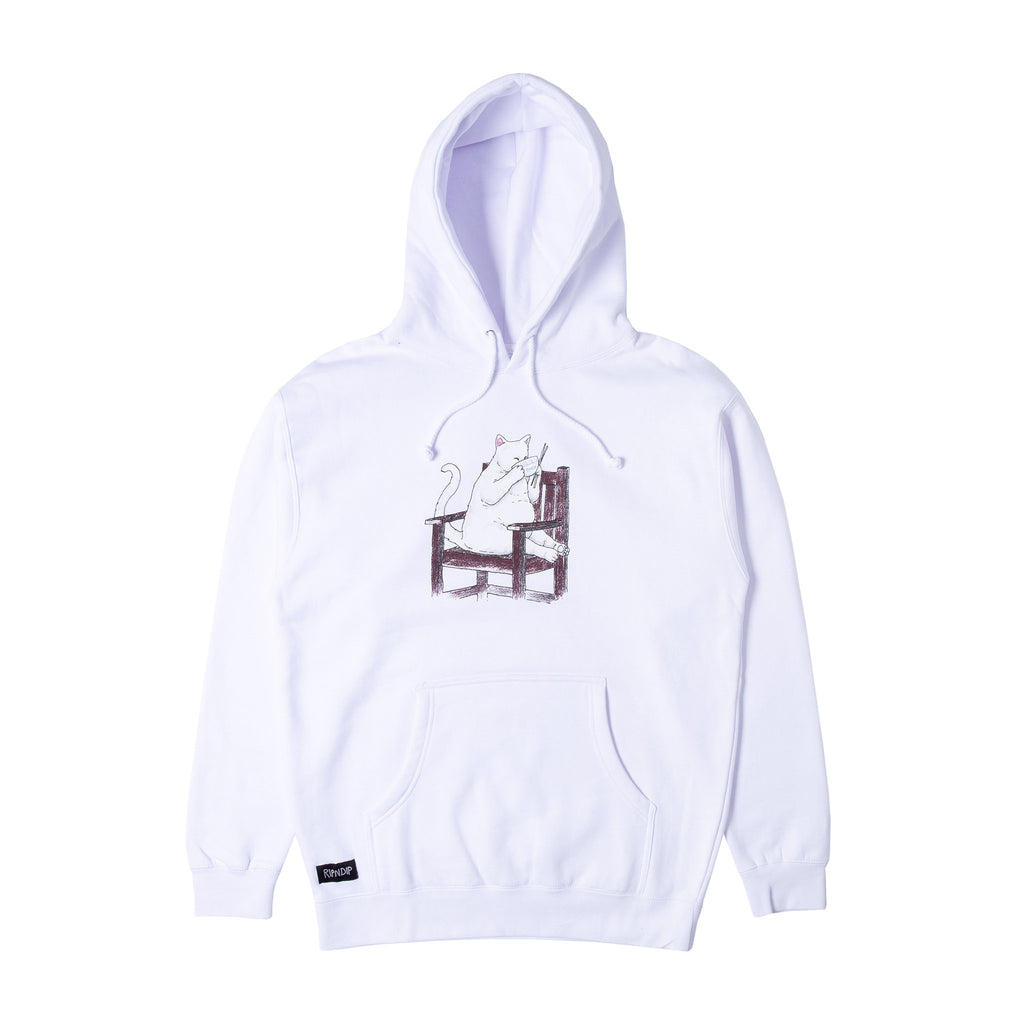 Take Out Hoodie (White)