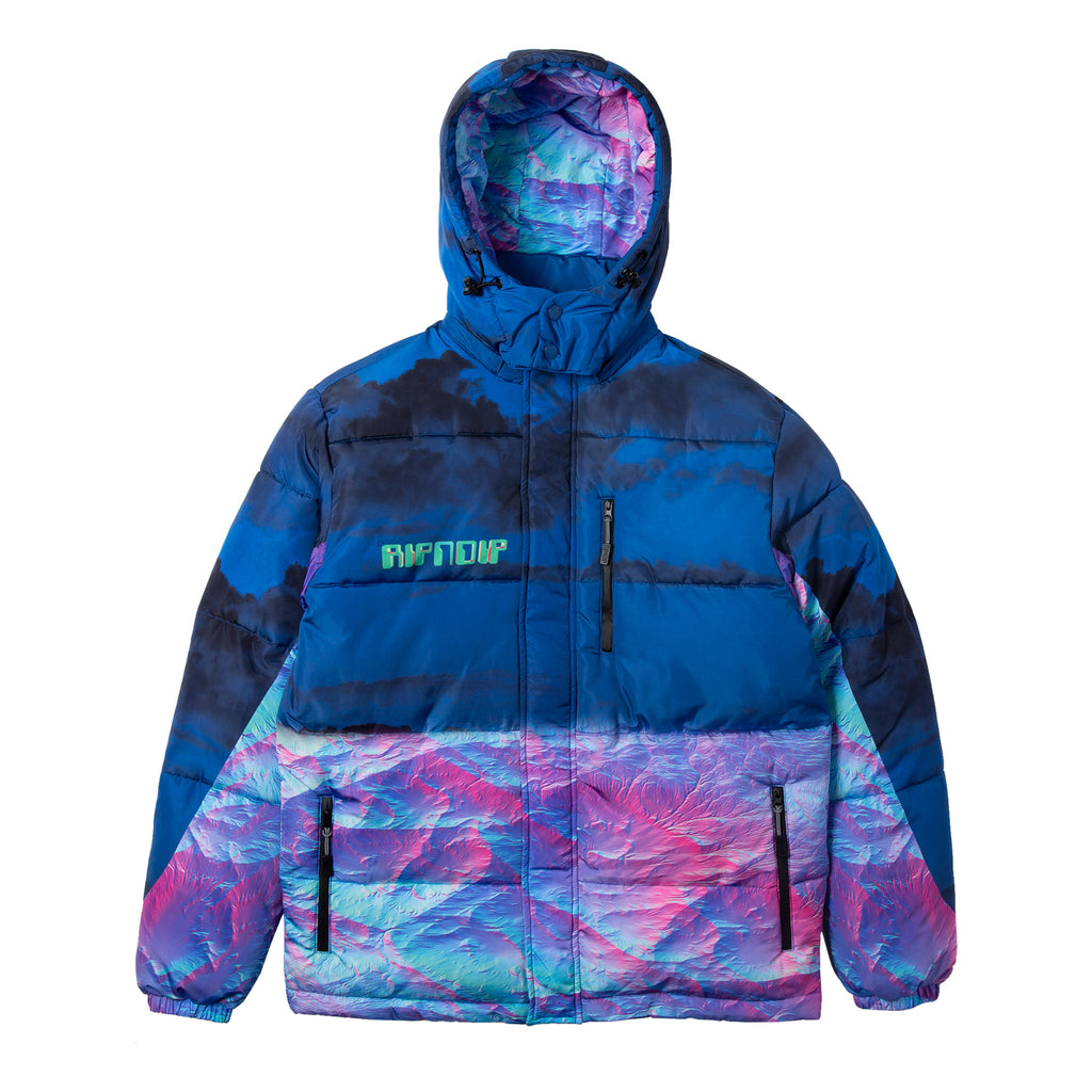 Thermal Nermal Puffer Jacket (Blue)