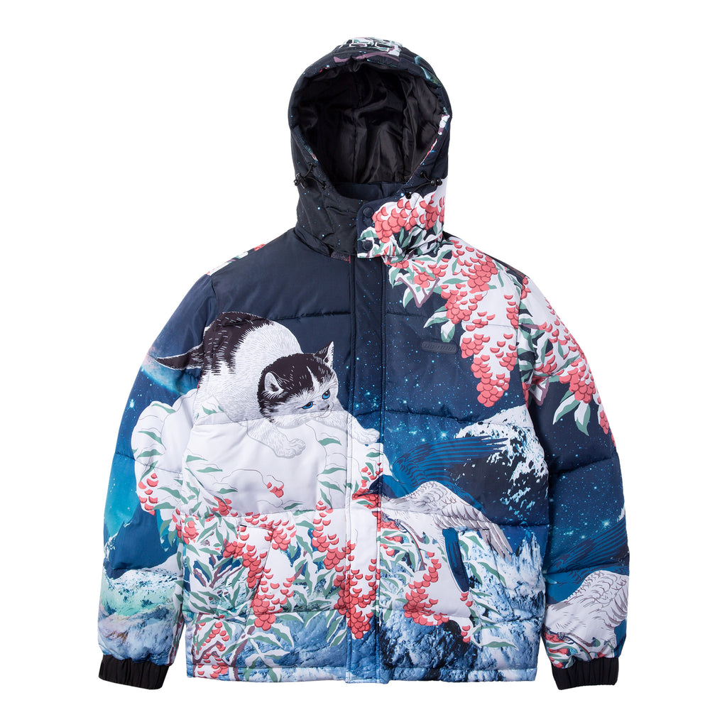 Snow Bird Puffer Jacket (Multi)