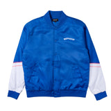 Show Biz Poly Varsity Jacket (Blue)