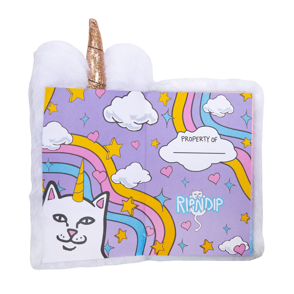 Fuzzy Unicorn Notebook