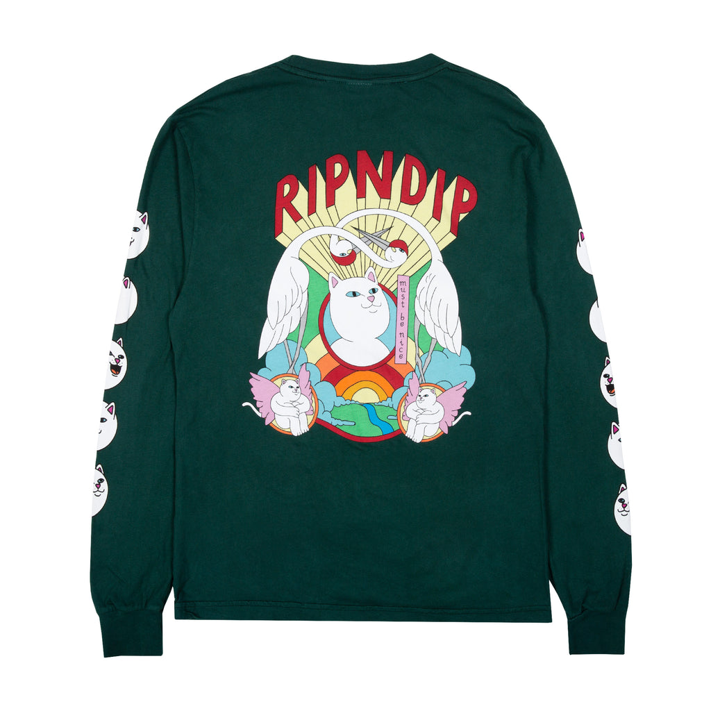 Spirited Away L/S (Hunter Green)