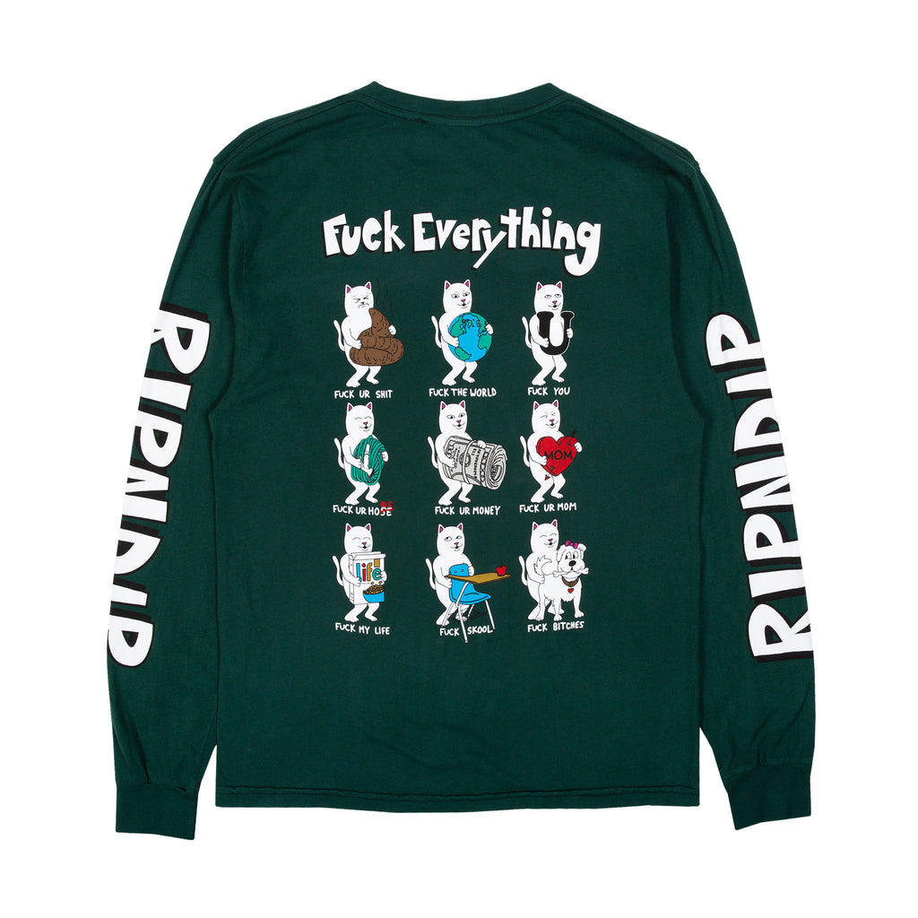 Fuck Everything L/S (Hunter Green)